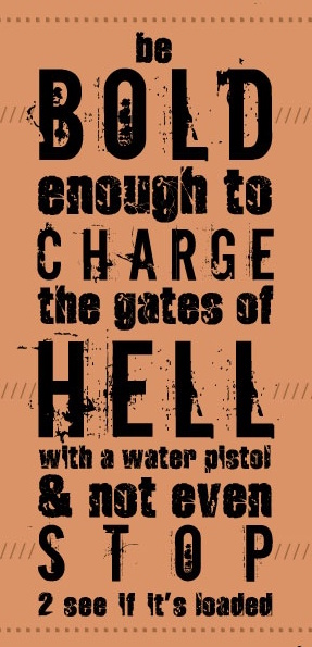 Gates of Hell Water pistol
